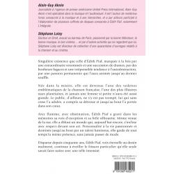 Romart - Edith Piaf, un destin rose obscur - Aknin et Loisy - Verso